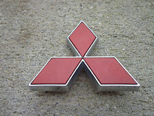 OEM Factory Genuine Stock Mitsubishi Galant red star trunk emblem badge logo