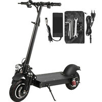 """Electric Scooter 10"""" 2000W Dual Motor Folding Commuter Scooter 50mile Max Range"""