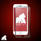 New Metal Edge iPhone 8 Black Gorilla Tech Brand Screen Protector Tempered Glass