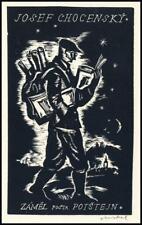 Rastislav Michal Exlibris X2 Bookplate Man 23