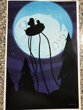 ADVENTURE TIME #17 Mondo Variant Cover by JJ Harrison - Rare - Near Mint- Unread