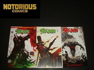 Spawn 311 312 313 Complete Comic Lot Run Set Image McFarlane Collection Cover C