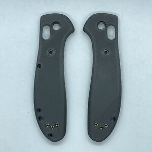 FLAT BENCHMADE FULL SIZE GRIPTILIAN SCALES (carbon Fiber) SMOOTH
