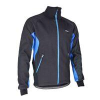 ARSUXEO Men Fleece Thermal Winter Cycling Jacket Windproof Bike Bicycle Win S8I7