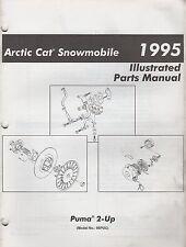1995 ARCTIC CAT SNOWMOBILE PUMA  2-UP PARTS MANUAL P/N 2255-150 (739)