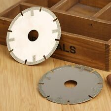 "2PC 100mm 4"" Diamond Polishing Grinder Concrete Cutting Disc Tools for DIY Craft"