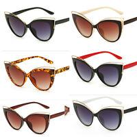 Cat Eye Vintage Retro Womens Fashion UV400 Sunglasses Eyewear Shades Eye Glasses
