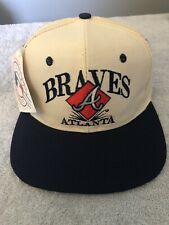 Vintage Early 90's Eds West Signatures Atlanta Braves Snapback Hat