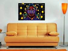 "Kaytranada 35""x25"" Inch Mosaic Tile Wall Poster DJ Electronic EDM House"