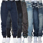 Mens Eto Cuffed Jogger Denim Jeans Pants Bottoms Trendy Stylish Chinos Trousers