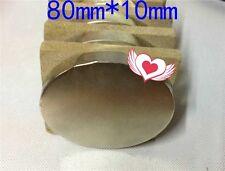 New listing 1pcs Huge Neodymium round Magnet! N52 grade rare earth magnet. New Super magnet!