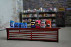 1/18 scaleSUNOCO Oil Products Diorama Austins Garage