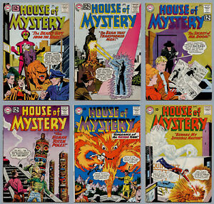 HOUSE OF MYSTERY A LOT OF 15 12¢ SILVER AGE COMICS FROM #119 THROUGH #154