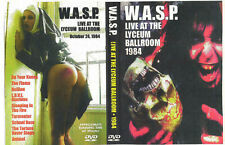 W.A.S.P. Lyceum,London 1984+Video's In The Raw 1986