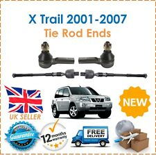For Nissan X Trail 2.0 2.2 2001-2007 Inner & Outer Steering Track Tie Rod Ends
