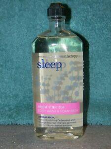 Bath & Body Works RARE Sleep Night Time Tea Body Wash/ Foam Bath 10oz