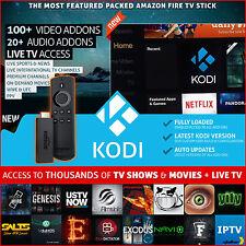 Amazon Fire TV Stick w/ VOICE REMOTE Media Player 17.3  Custom Build ARES WIZARD