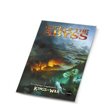 Kings of War BNIB Edge of the Abyss - Summer Campaign Book MGKW12