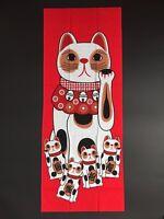Neko Atsume Cat Tenugui Hand Towel JAPAN Hit-Point