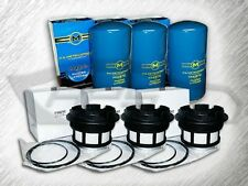 7.3L TURBO DIESEL 3 OIL FILTERS & 3 FUEL FILTERS FOR 99-03 FORD F SERIES