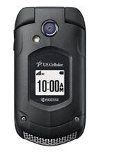 NEW Kyocera DuraXA E4510 (US CELLULAR Only) Black Camera Rugged Flip Phone