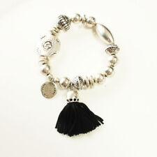 New Chicos Tassel Charm Beads Stretch Bracelet Gift Vintage Women Party Jewelry