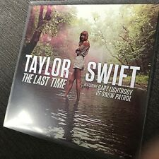 TAYLOR SWIFT 'THE LAST TIME' RARE ONE TRACK DUTCH BIG MACHINE RECORDS PROMO CD