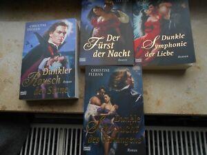 Christine Feehan Dunkle Sehnsucht Rausch,Symphonie der Liebe Der Fürst der Nacht