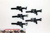 5X Lego® 57899 Star Wars Minifig Gewehr Weapon Gun Blaster long Schwarz Black