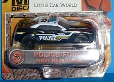 TONKA Police Force Car First Responders Metal Discast Bodies NEW