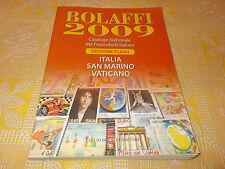 Bolaffi 2009 Catalogo Nazionale Francobolli Italiani Italia San Marino Vaticano