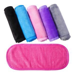 Reusable Eraser Makeup Remover Towels Make Up Cleaning Towel Fibre Cloth NEW