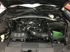 Green High Performance Air Filter 15-19 Mustang Bullitt & Shelby 5.2L