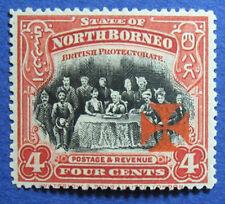 1916 NORTH BORNEO 4c SCOTT# B4a S.G.# 192a UNUSED CS05257