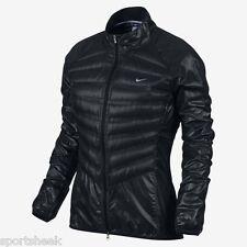 Women's Nike Aeroloft Running/ Training Jacket Black - Size X Small