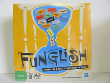 Funglish Board Game - Great Game for Everyone - Ages 12 & up - 3 or more players
