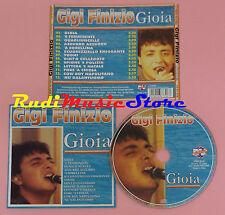 CD GIGI FINIZIO Gioia 2004 italy DV MORE RECORD CD DV 6730 lp mc dvd vhs