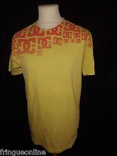 T. shirt DC SHOES jaune Taille L