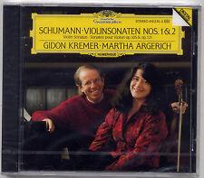 Schumann: Violin Sonatas No 1 & 2 - Kremer Argerich DG SEALED