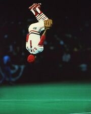 1985 St Louis Cardinals OZZIE SMITH Glossy 8x10 Photo 'Flip' Poster World Series