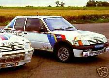 Peugeot 205 T16 works rally voiture autocollants-neuf