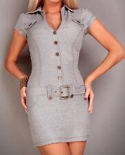 Minikleid Stretchkleid 38 Minikleid Kleid Jerseykleid schwarz weiß meliert