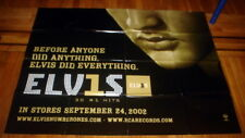 ELVIS PRESLEY 30 #1 HITS NYC SUBWAY POSTER 2002 5FT