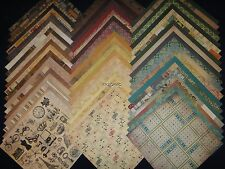 12X12 Scrapbook Paper Heirloom Stack DCWV Vintage 60 Wholesale Lot Kit Supplies