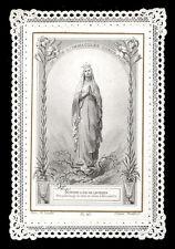 santino merlettato-holy card-canivet*LETAILLE-417 N.SIGNORA DI LOURDES