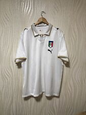 ITALY 2008 2009 AWAY FOOTBALL SHIRT JERSEY MAILLOT MAGILA PUMA