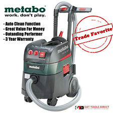 Metabo 1400W Auto Clean Vacuum Cleaner Dust Extractor ASR35L  -  3 Year Warranty