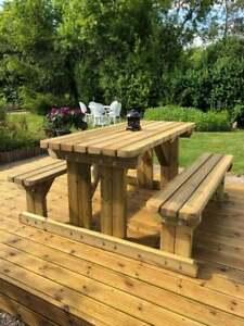 Premium Walk-In Style Picnic Table