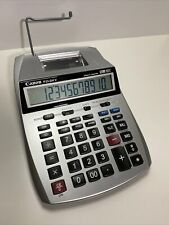 Canon P23-Dh V Two Color Printing Calculator & Clock Works Ac/Dc Office Adding