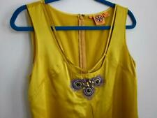 Tory Burch Peacock Embroidered Beaded Silk Sleeveless Tank Top Blouse 10 M $265